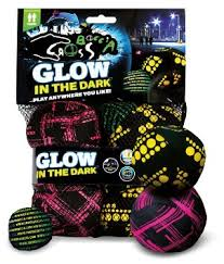 Crossboccia Spelset Glow in the dark ( 2 pers) Record Lines