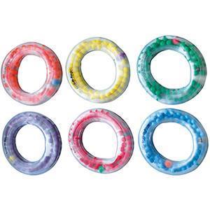 Ringar med elastiska kulor
