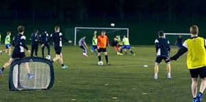 Circular soccer - TriGoal Nyhet!