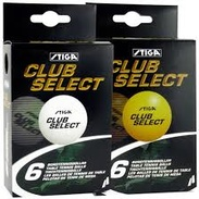 Stiga Ball Club White 6-pack
